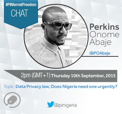 #PINternetFreedom Chat With Perkins Onome Abaje (@POAbaje)