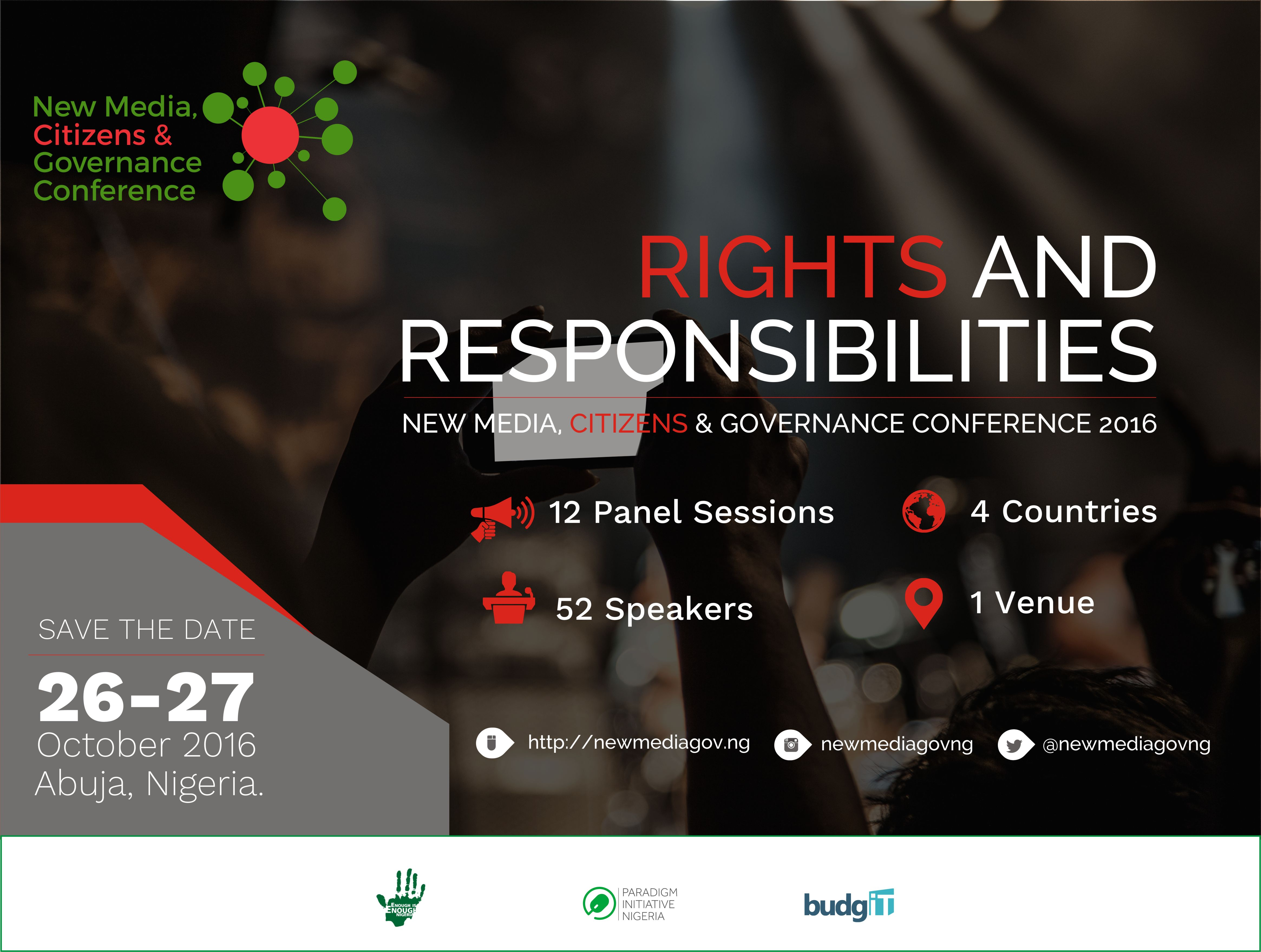 New Media, Citizens and Governance Conference – Abuja 2016