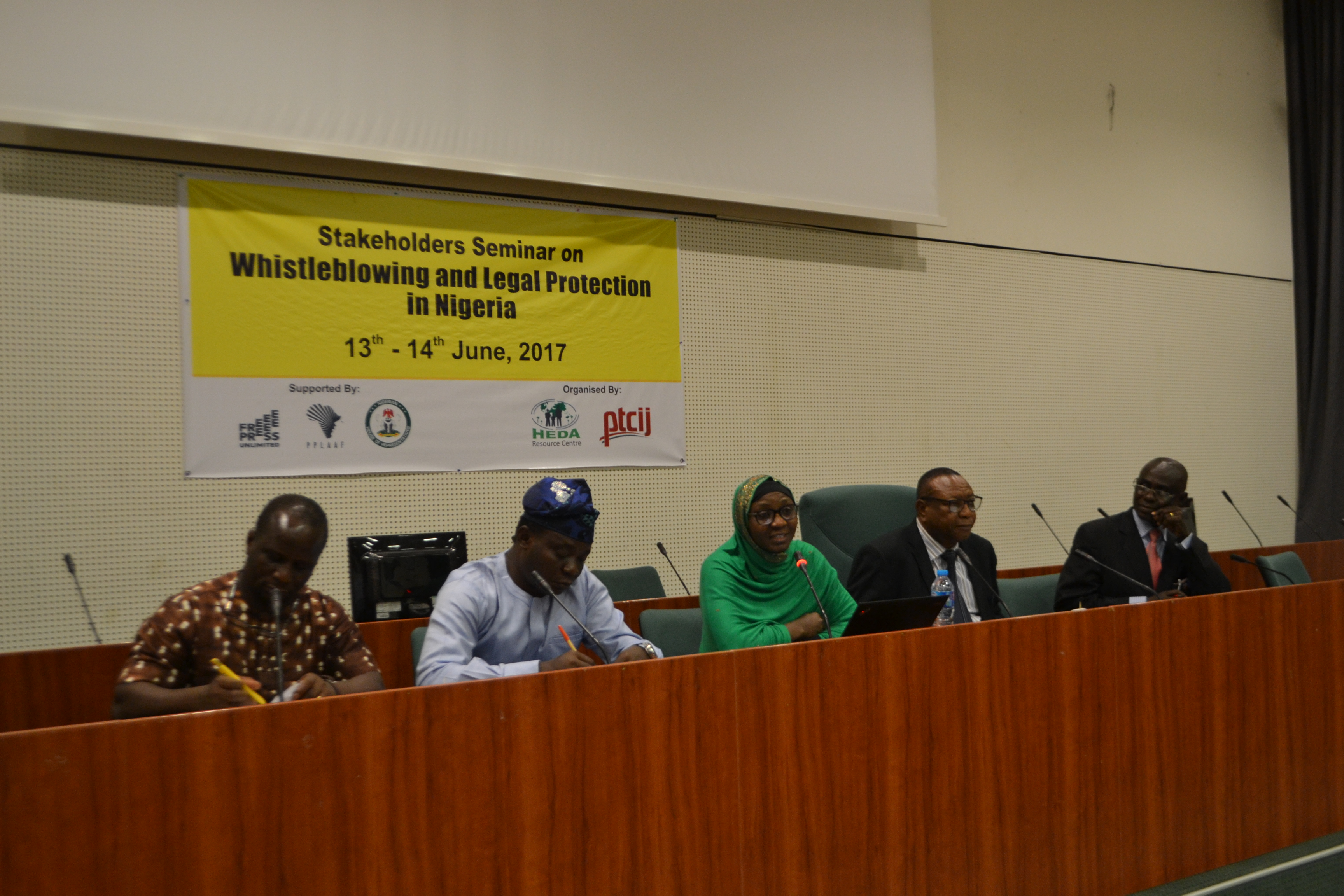 Event Report: Stakeholder Seminar on Whistleblowing and legal protection in Nigeria