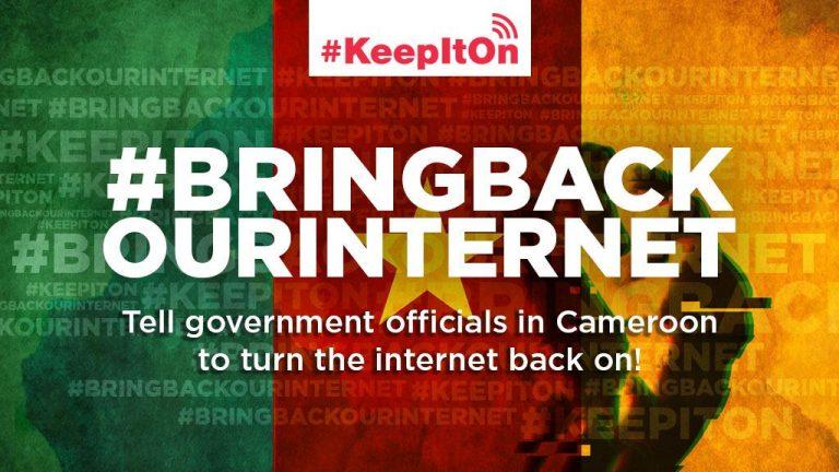 PRESS RELEASE:  Paradigm Initiative Condemns Internet Shutdown in Cameroon