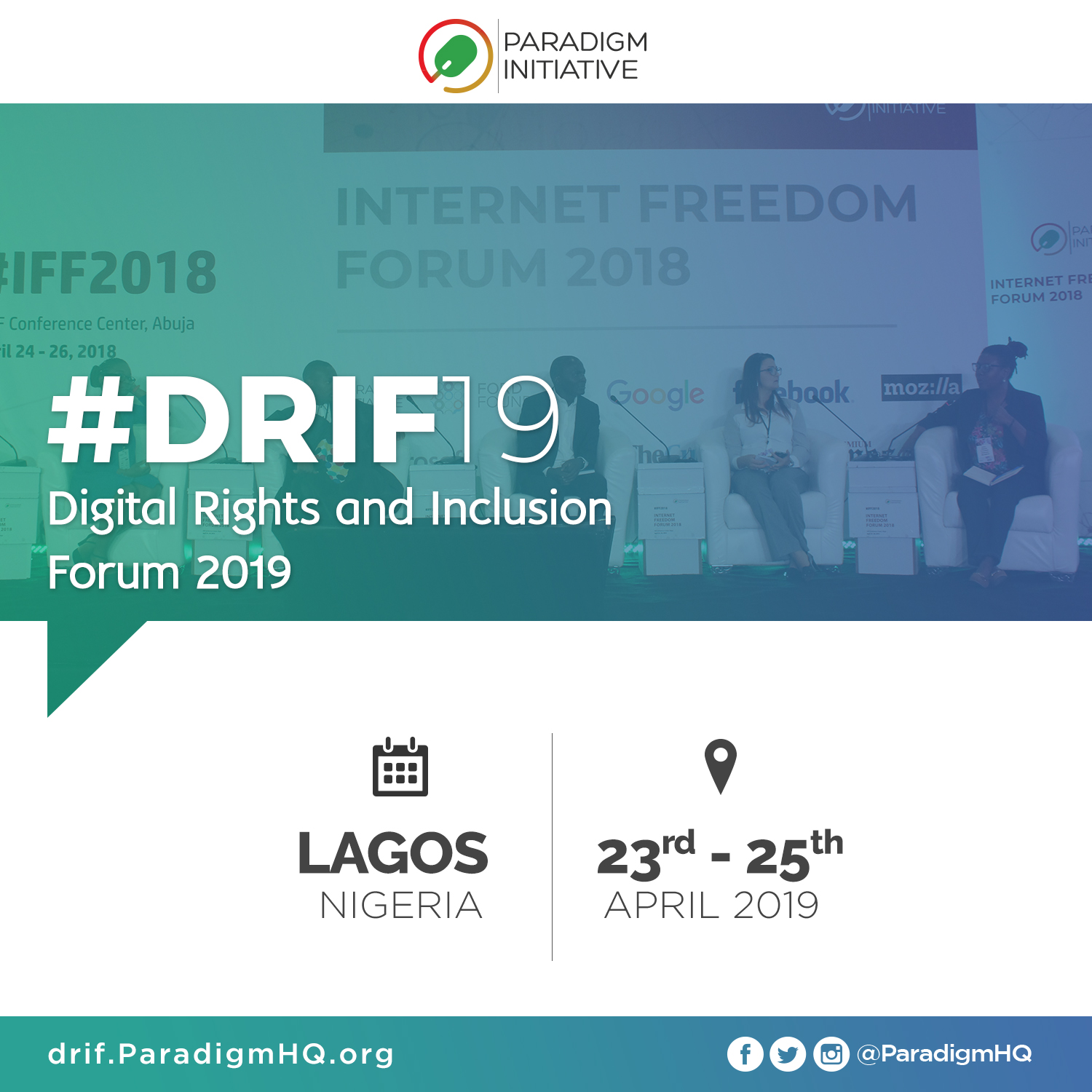 Call for Registration: Digital Rights and Inclusion Forum