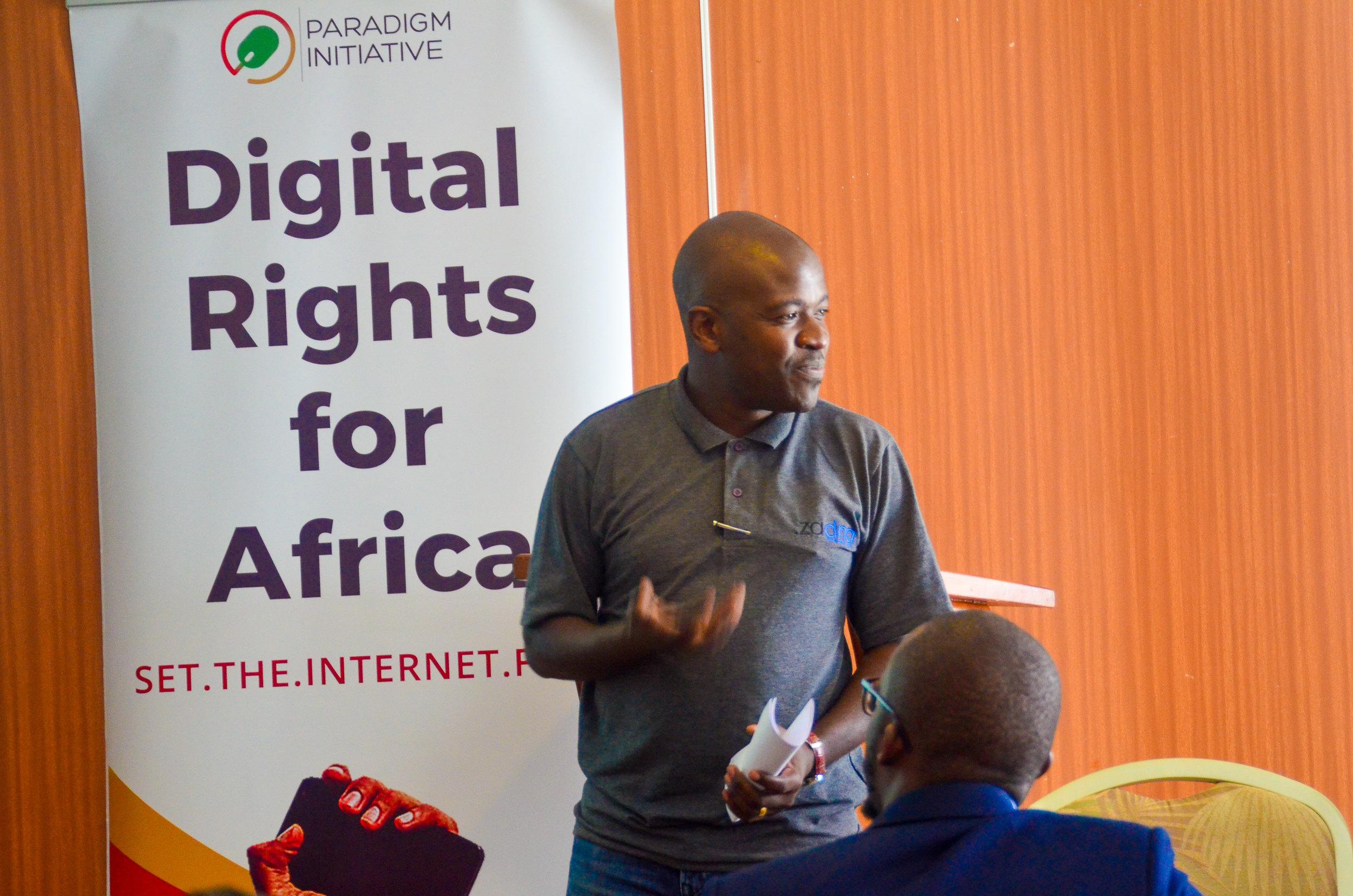 Paradigm Initiative at Kenya School of Internet Governance 2018