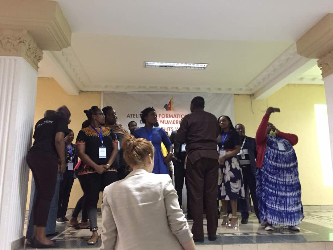 Digital Rights Workshop: Empowering Advocates in Cameroon