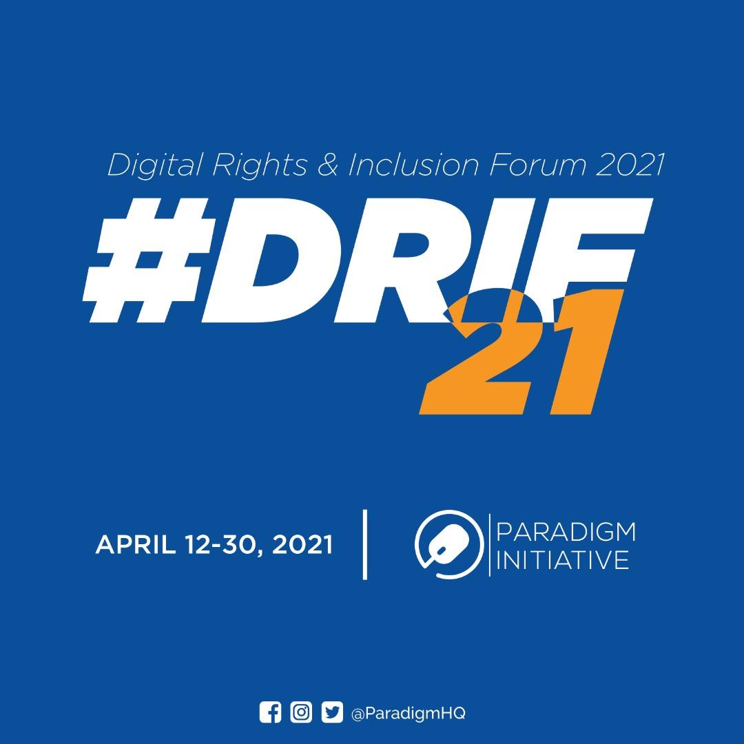 Paradigm Initiative organisera DRIF21 en tant que festival multi-pays en avril 2021