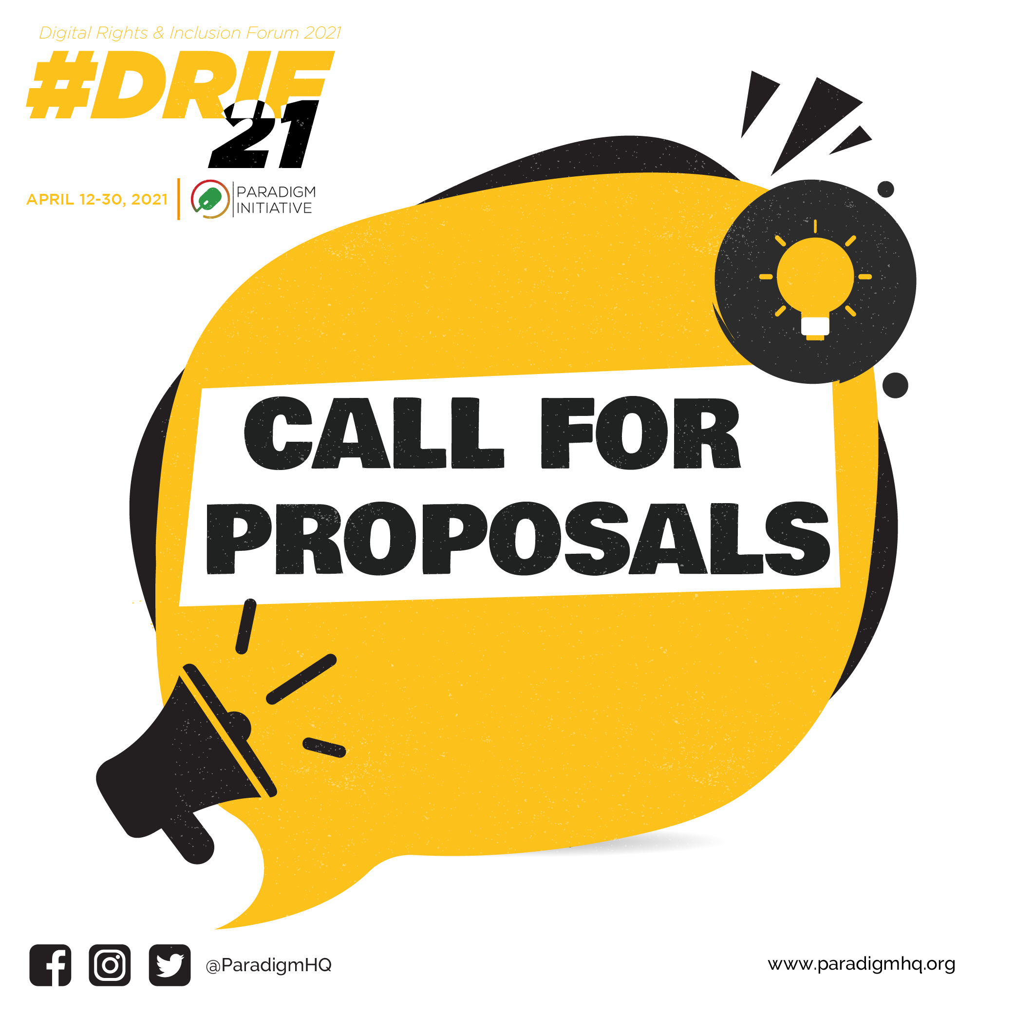 DRIF21 Multi-Country Festival: Call for Session Proposals !