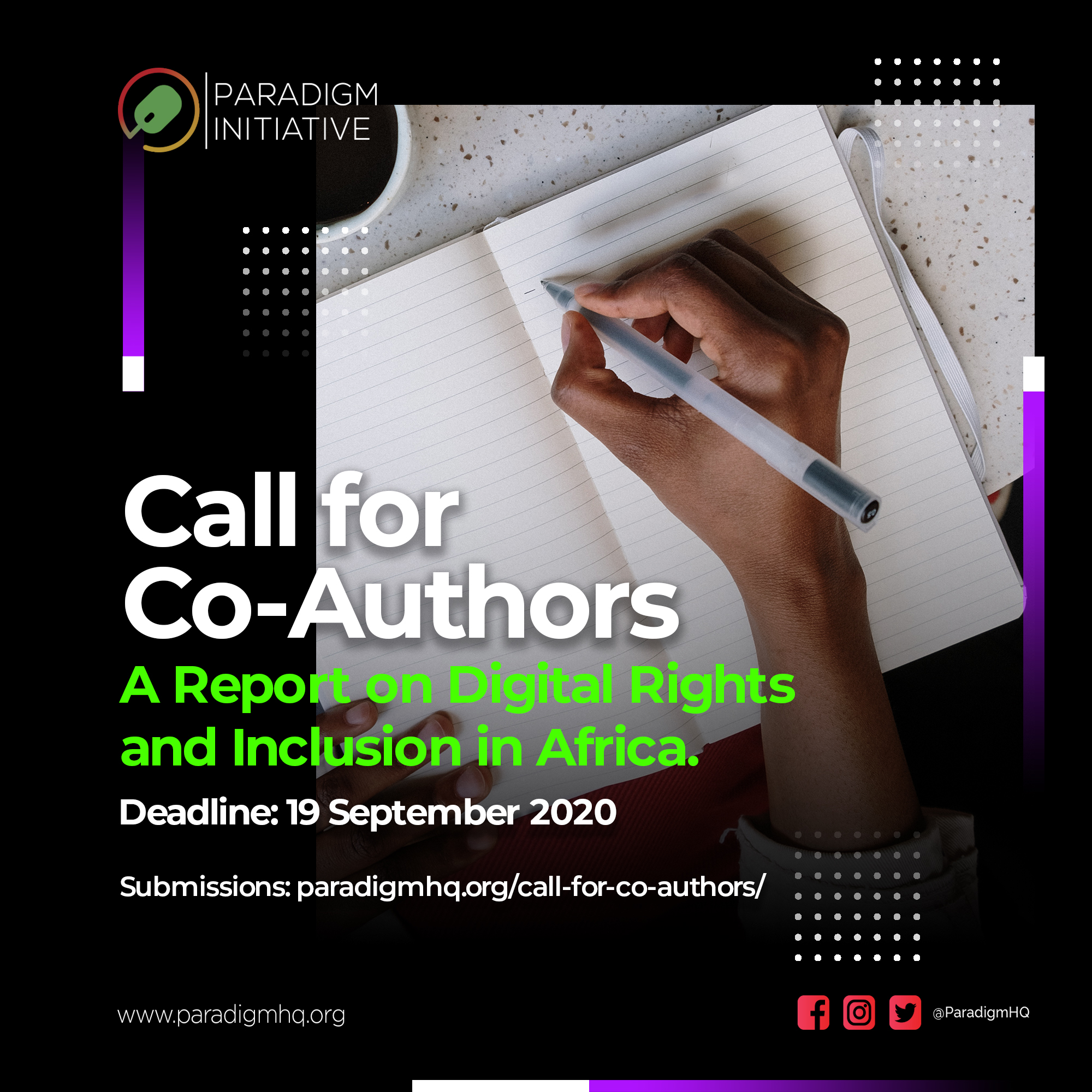 Call for Co-Authors
