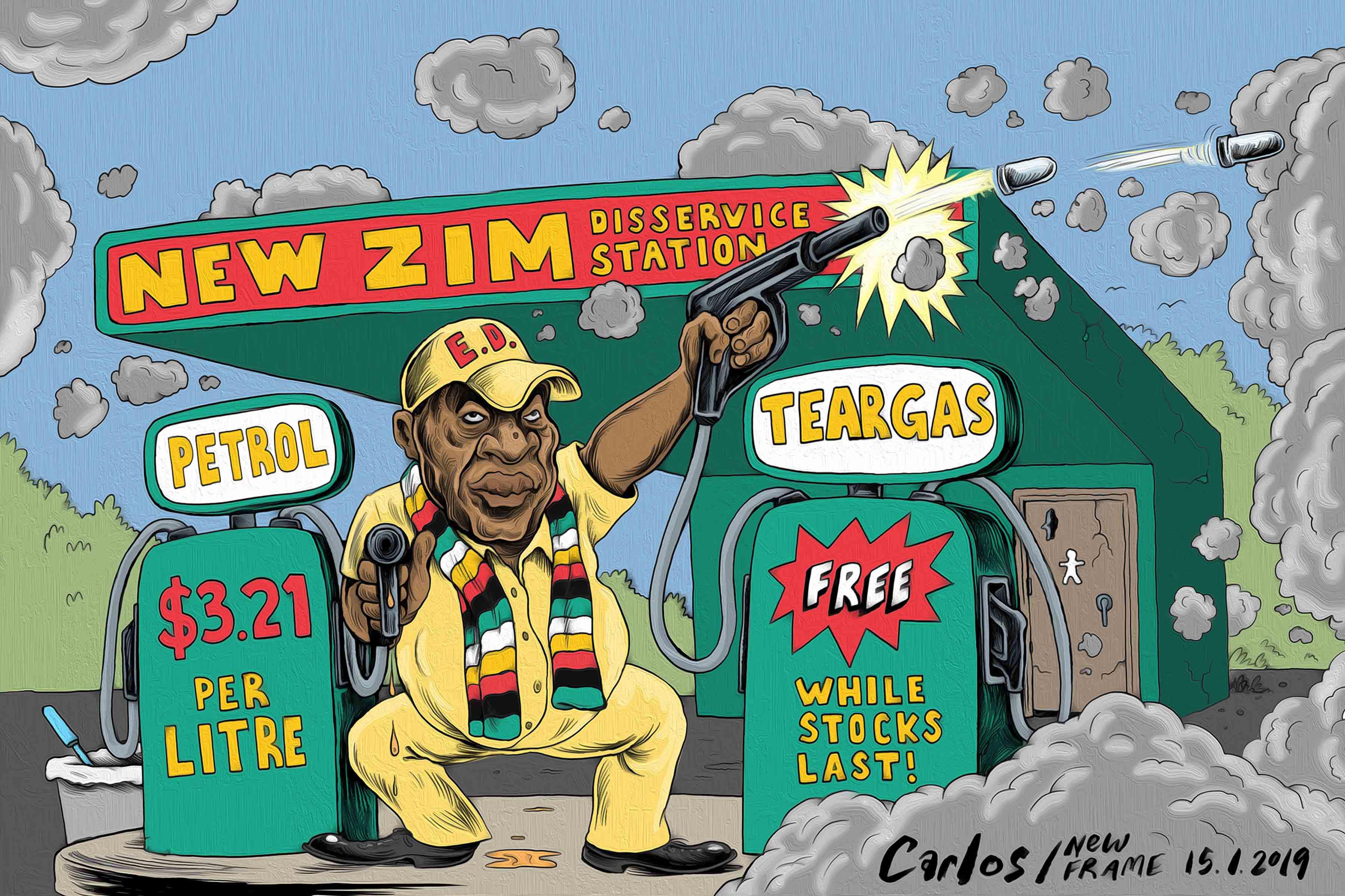 Zimbabwe govt's digital 'warfare': harassing social media voices