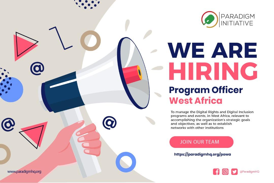 Vacancy: Program Officer – West Africa