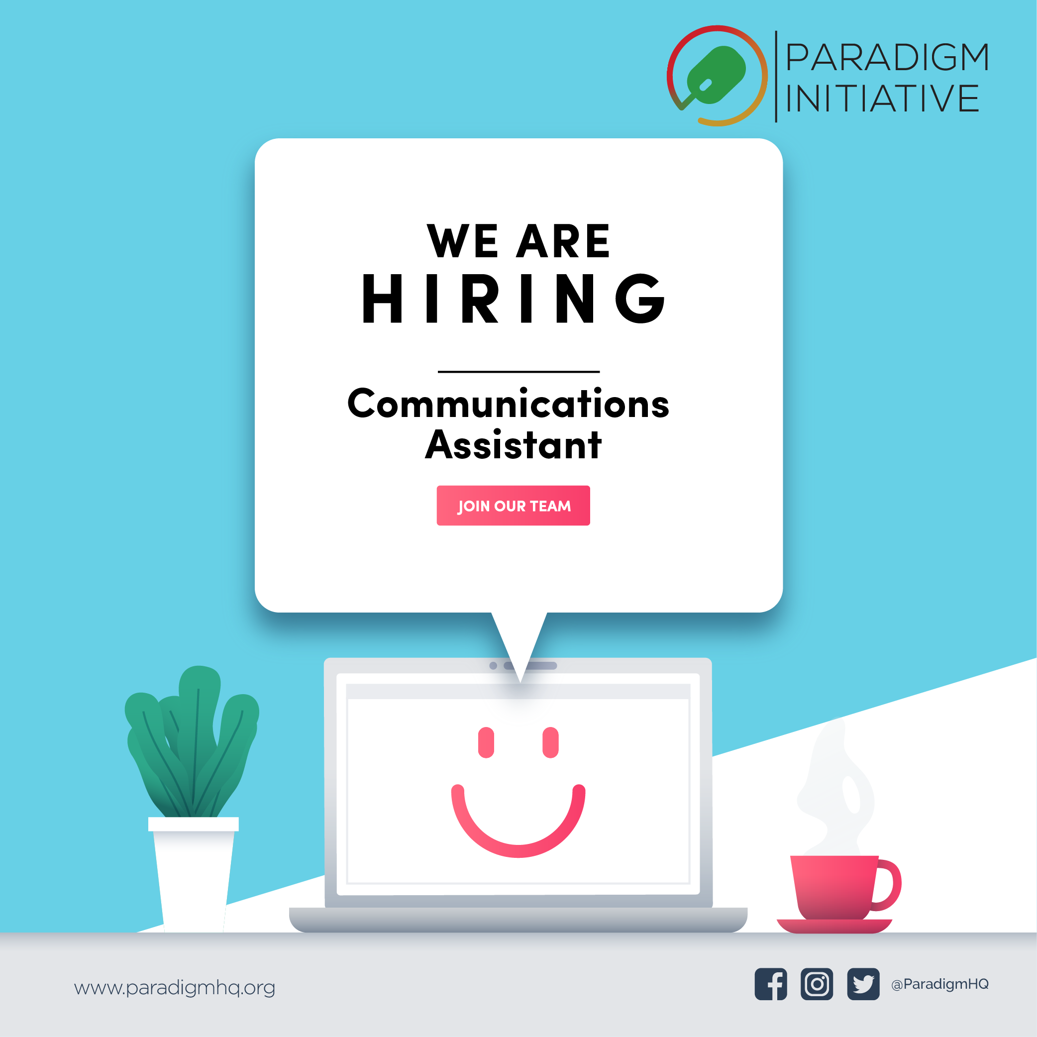 Vacancy: COMMUNICATIONS ASSISTANT