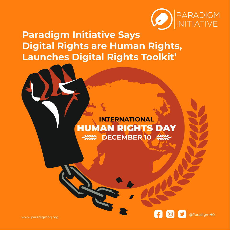 Paradigm Initiative Says Digital Rights are Human Rights, Launches Digital Rights Toolkit