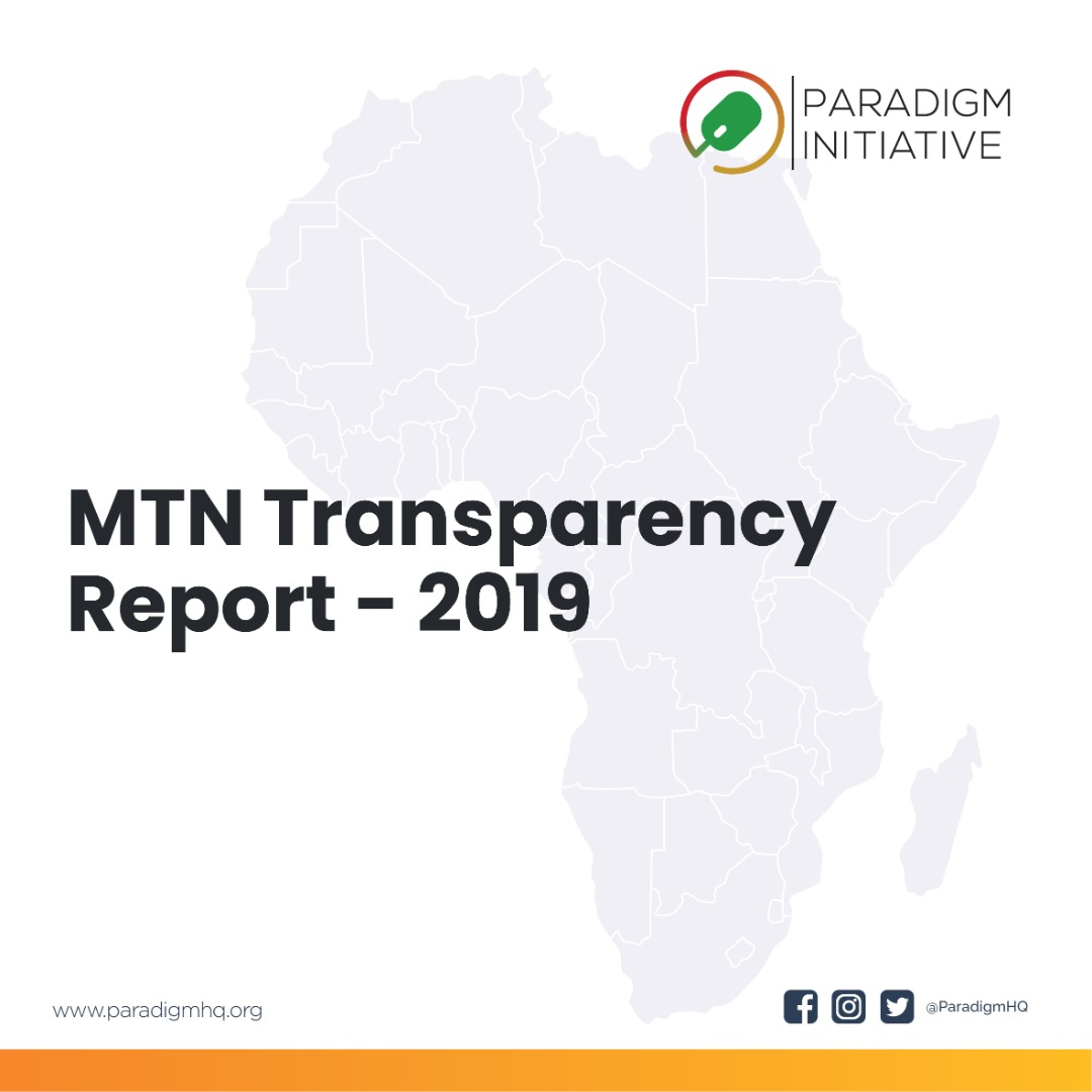 Paradigm Initiative Applauds MTN Group Limited for Releasing First Transparency Report