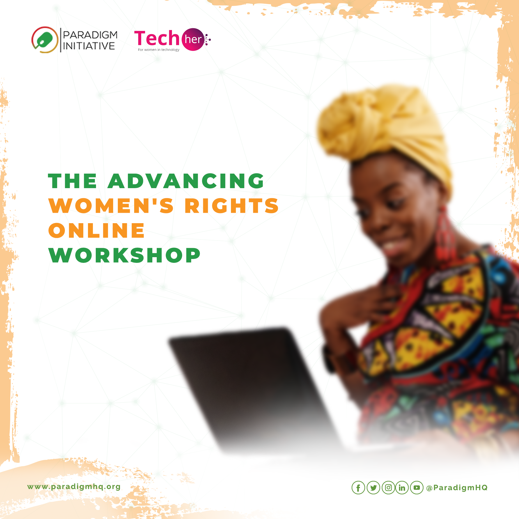 THE ADVANCING WOMEN'S RIGHTS ONLINE WORKSHOP